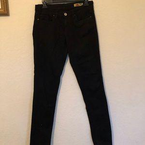 Black blank nyc jean